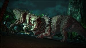 T-Rex vs Trike JP Telltale