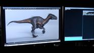 Indoraptor walk cycle 1