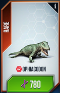 Ophiacodon Card (Higher Quality)