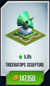 Trike Sculpture Card