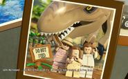LEGO Bowmans T rex