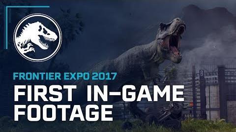 First In-Game Footage - Jurassic World Evolution