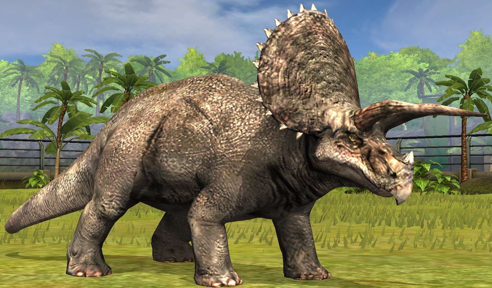 image triceratops lvl 10 jpg jurassic park wiki fandom powered