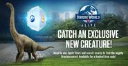Brachiosaurus Canada Exclusive