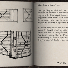 Enclos de quarantaine