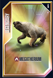 Megatherium New Card