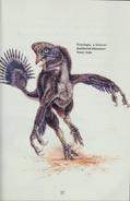 Nomingia in Dinosaurs Alive! book
