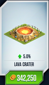 Lava Crater Card