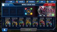 Vulcan 19 Team Screen