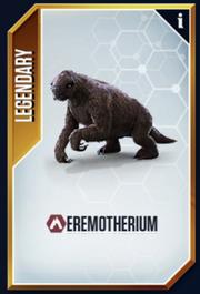 Eremotherium New Card