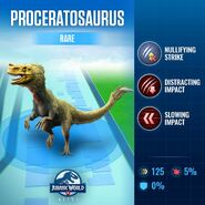 Proceratosaurus Stats