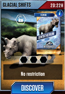 Glacial Shifts (Uintatherium)
