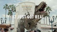 Jurassic World The Ride - It Just Got Real TV Spot