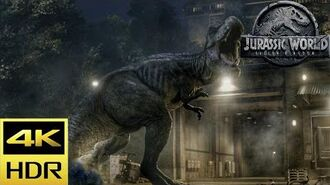 The Dinosaurs Are Freed - Jurassic World Fallen Kingdom (2018) Blu-ray 4K HDR