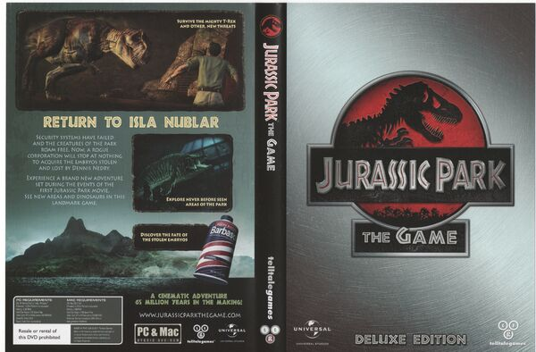 Jurassic Park: The Game Deluxe Edition set - Jurassic Park ...