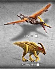 JW Dino Rivals Dual Attack Ptera & Para
