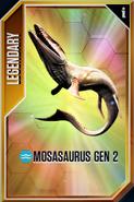 Mosasaurus GEN 2 Card