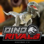 Dino Rivals Savage Strike Blue Ver2 2
