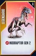 Indoraptor GEN 2 card