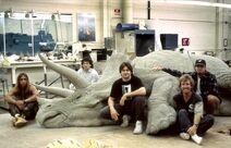 Jurassic Park BTS (17)