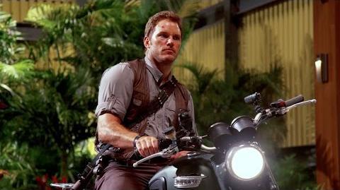 Chris Pratt's Jurassic World Journals Motorcycle (HD)