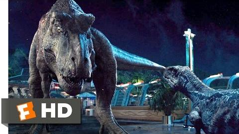 Jurassic World (10 10) Movie CLIP - Dinosaur Alliance (2015) HD