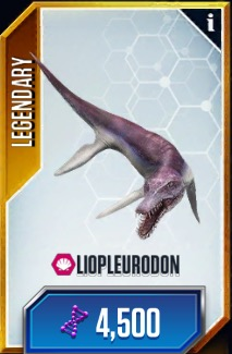 Liopleurodon Updated Card