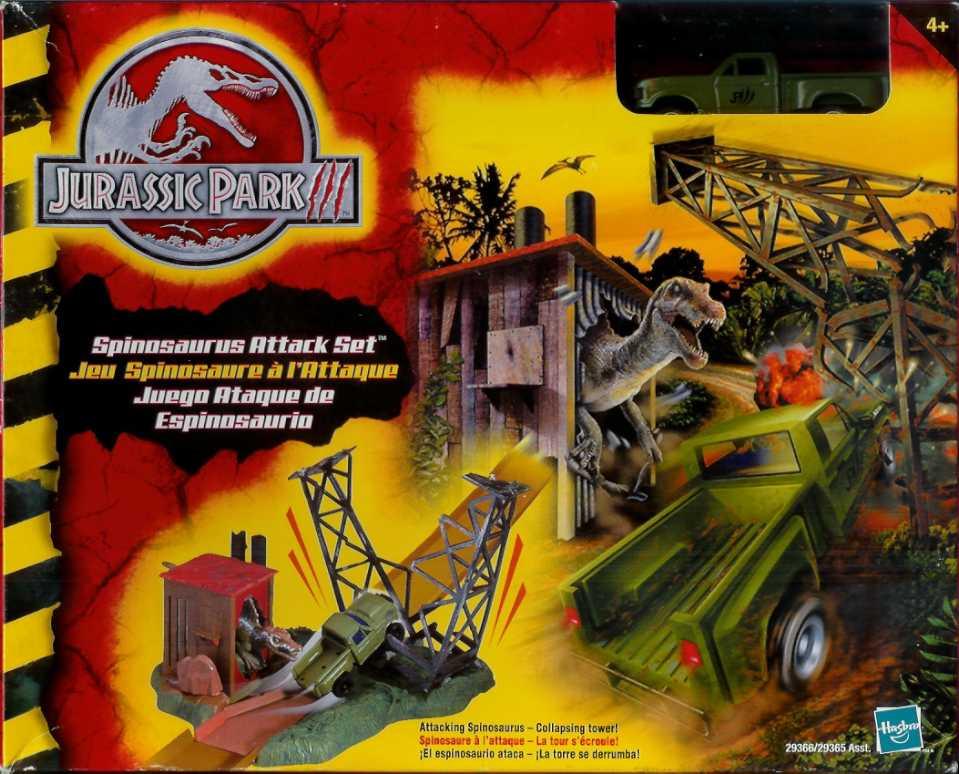 Spinosaurus Attack Set   Jurassic Park wiki   FANDOM powered