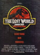The Lost World- Jurassic Park poster