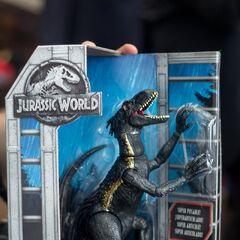 Jouet représentant l'Indoraptor