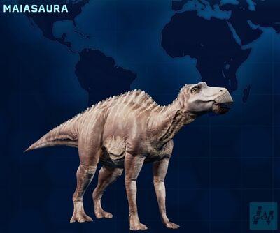 Maiasaura JWE
