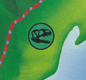 Segisaurus map icon