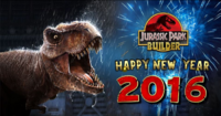 Jurassic Park Builder Happy New Year 2016