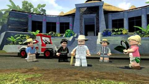 LEGO Jurassic World Official Gameplay Trailer