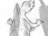 Неидентифицированный пеликозавр