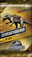 Acrocanthosaurus Pack