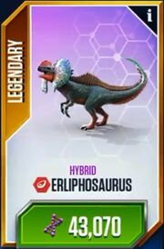 Erliphosaurus Card
