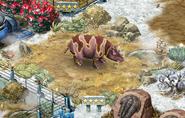 Level 40 Uintatherium