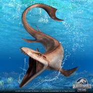 Mosasaurus gen 2 artwork