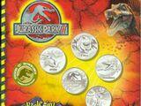 Royal Canadian Mint Jurassic Park III set