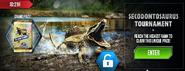 Secodontosaurus Tournament News