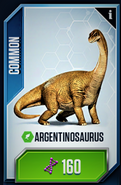 Argentino Card