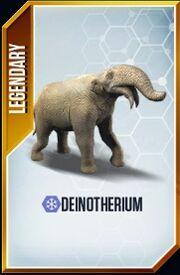 Deinotherium Card