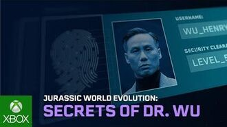 Jurassic World Evolution Secrets of Dr Wu Out Now