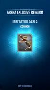 Gen 2 Irritator Unlock