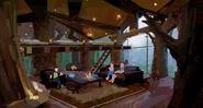 Camp Cretaceous Inner Lodge Concept Art