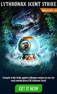 Lord Lythronax Scent Strike Event