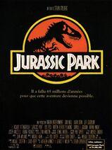 Affiche Jurassic Park (FRANÇAIS) 1