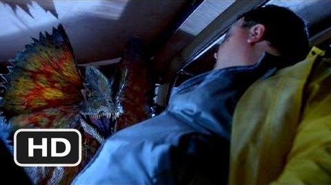 Nedry's Plan Goes Awry Scene - Jurassic Park Movie (1993) - HD