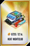 Heat Nightclub Card (Without Guaranteed)